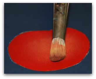 how to clean melamine paint off brushes