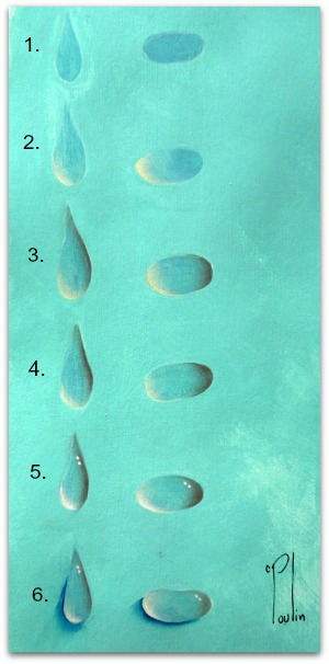 How To Paint Water Droplets