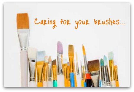 Cleaning paint brushes is important for the longevity of