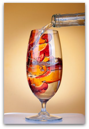 Wine glass painting is a great way to create one of a kind for Type of paint to use on wine glasses
