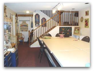 Decorative painting studio
