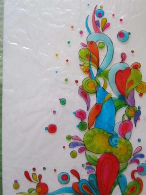 Glass painting from exotic places for How to do glass painting at home